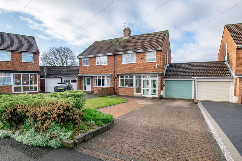 <br/><br/><p><span >A well-presented, semi-detached, three-bedroom family home situated in a sought-after location of Marlbrook, Bromsgrove.</span></p><p><span >The interior, in brief, comprises double glazed porch, entrance hallway with stairs to first floor landing and guest w/c, spacious lounge having bay to front and feature coal effect gas fire with surround, dining room offering double doors out to the rear garden, a kitchen providing a range of wall and base units, integrated oven with gas hob and extractor hood over, bright sun room with a large window offering an outlook to the rear garden and an internal door to the garage to which benefits from electric roller shutter door, fitted plumbing and electric sockets for additional appliances such as washing machine and tumble dryer.</span></p><p><span >Moving upstairs the first-floor landing establishes a sizable double bedroom one providing large integrated wardrobe storage, double bedroom two with built in storage space, well-suited single bedroom three also with additional storage space, and a modern family bathroom having bathtub with overhead shower.</span></p><p><span >Outside to the rear occupies an enclosed rear garden providing and initial patio space for furniture. A generous block paved driveway to the front offers parking for multiple vehicles bordered by a well-maintained fore garden.</span></p><p><span >Additionally the property benefits from gas central heating, double glazing and a good sized boarded loft space with two Velux windows.</span></p><p><span >The property is situated in a desirable location of Marlbrook, approximately two miles North of Bromsgrove town centre, close to a local supermarket, easily accessible for great road transport links and the Lickey Hills, as well as walkable into open countryside.</span></p>
