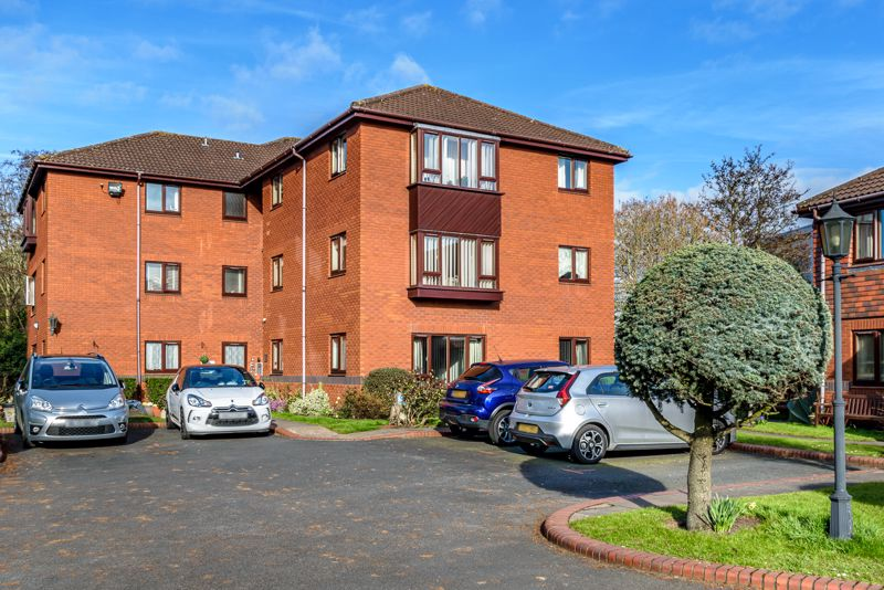 A purpose built, one bedroom ground floor apartment, occupying a separate block within the popular Housman Park retirement complex. A secure entrance fronts the property gaining access to the apartment. <br/><br/>The layout briefly comprises: Entrance hall, with useful storage cupboard to right hand side. Open plan living space, with window to rear, modern wall mounted electric heater with controls and carpet to floor. The kitchen is open to this, offering a window to rear, wall and base units, work surface with inset sink, room for appliances and socket for a microwave. Double bedroom, with window to side, night storage heater, fitted wardrobe and useful walk-in storage cupboard. Shower room, with shower enclosure, white w.c. and sink, sparkle effect wall panels, airing cupboard and towel rail. <br/><br/>The block has access to attractive communal gardens with seating areas, plus the main complex where there is a community room, hair salon, laundry amenities and weekly activities. For a charge, you can arrange to eat in the dining room or have food brought to your apartment. If needed a brief morning check visit from centre staff can be requested.  There is also a lifeline emergency call facility and the possibility of a parking permit if you have a car. <br/><br/>The complex is highly sought after for its close proximity to the High Street Shops, cafe's, restaurants and pubs, as well as medical and treatment centres, the library, Bromsgrove Leisure Complex with a swimming pool and gymnasium and the main Community Hub within the council house.