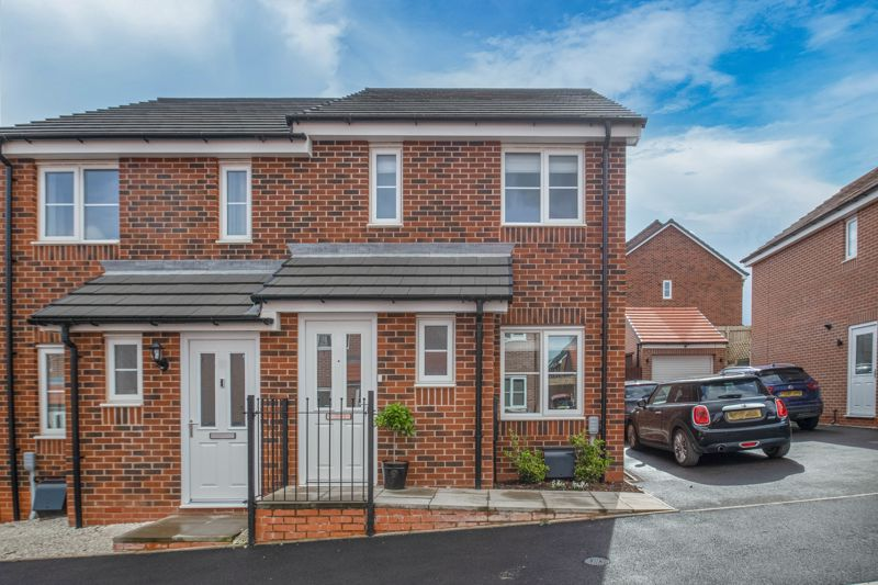 <br/><br/><p><span >A modern two-bedroom, semi-detached home on Meadow View, Brockhill, Redditch.</span></p><p><span >The ground floor layout is as follows: Initial hallway with a Guest WC/cloakroom, front lounge with a window to the front, an under stairs storage cupboard and a door opening to the kitchen/diner. The kitchen area benefits from an integrated fridge/freezer, induction hob, oven, extractor hood, dishwasher, and washer/dryer. The dining area has French Doors opening onto the rear patio. </span></p><p><span >The first-floor accommodation comprises: Bedroom one with a storage cupboard, double bedroom two with space for wardrobes and a view to the rear garden, and the family bathroom providing a bath with overhead shower, sink and WC. </span></p><p><span >Outside to the rear is an initial slabbed patio and path up to a further well sized patio area perfect for garden furniture, and a well-maintained lawn. To the front of the property is a shared driveway with tandem off-road parking and side gate access through to the rear. </span></p> <span ><br/><br/><span >This development is close to open countryside, as well as a reputable convenience food store, pubs and restaurants in Alvechurch, both Redditch town centre amenities are most reachable as well as a local retail park with popular outlets and a major supermarket, Abbey Stadium sits almost on the door step for excellent sports facilities and the property is quite accessible for the junction 2 of the M42.</span></span>