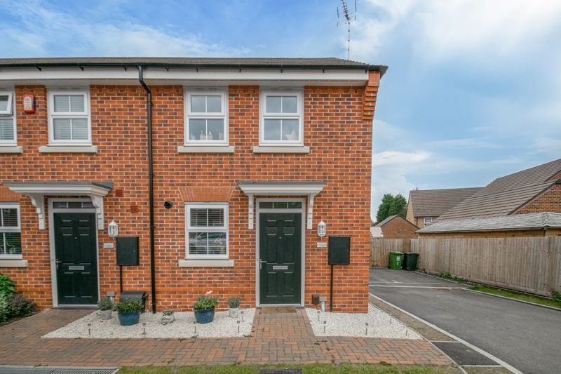 <br/><br/><p>An immaculately presented two-bedroom, end terraced home, placed in a highly sought-after residential area on a modern development in Wirehill, Redditch.</p><p>The ground floor accommodation comprises: Entrance hall, WC/cloakroom, fitted kitchen with integrated appliances (fridge, freezer, dishwasher, washer/dryer, gas hob and oven), and the spacious living room/diner with a handy storage cupboard, and French Doors leading out onto the rear garden patio.</p><p>The first-floor landing establishes: Bedroom one with space for wardrobes, double bedroom two with a handy storage cupboard, and the family bathroom, providing a bath with overhead shower, sink and WC.</p><p>To the rear is a sizable south facing garden with an initial patio area then laid to a well-maintained lawn. To the side of the property is a private driveway providing off-road parking for two cars, along with side gate access to the rear garden.</p><p>Ideally situated in Wirehill, the property benefits from being nearby to the Alexandra Hospital for medical facilities, local shops, and schooling. Redditch Town Centre is a short ride away boasting an assortment of leisure facilities and amenities such as shops, restaurants, and cinema, as well as the local bus and train stations. Motorway networks (M42 and M5) are easily accessible.</p>