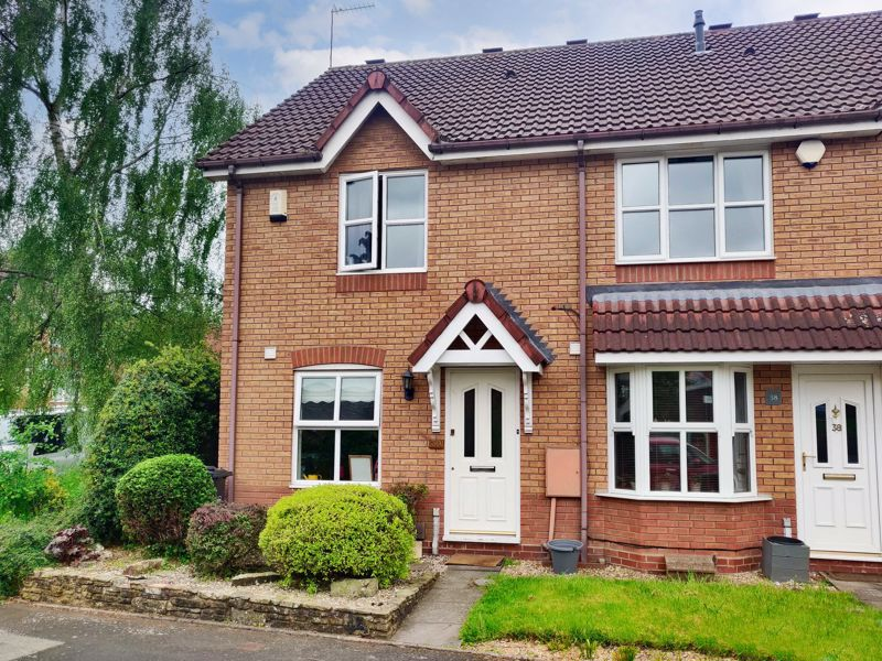 A well-presented end-terraced property in a popular area of Halesowen with allocated parking, located on a quiet street.<br/><br/>This property briefly comprises; Entrance hallway, a well-proportioned and nicely fitted modern kitchen/breakfast room that benefits from having integrated appliances such as; Four ring gas burner stove, oven, fridge freezer. Whilst also having space for a washing machine. Lastly on the ground floor is a good-size lounge that has a feature fireplace, and feature double doors onto the rear patio.<br/><br/>The first floor of the property lends itself to two bedrooms and a family bathroom. Bedroom one is a double and benefits from built-in wardrobes, whilst bedroom two is a good-size and also benefits from built-in wardrobes. The family bathroom is adequately proportioned and benefits from having a bath with an overhead shower unit. <br/><br/>Externally this property has a good-size easily maintainable rear garden with nicely laid slabs around the patio area that lead to the top of the garden, as well as having attractive shrubbery and planting borders to the edges. This property also benefits from having a side access gate. <br/><br/>Ideally located near to several local schools of all ages, and within close proximity to Haden Hill and Leasowes Park. Shops and amenities can be accessed in Halesowen town centre. There are commuting routes to Birmingham and the M5, as well as bus routes to Birmingham and Merry Hill from Halesowen bus station.