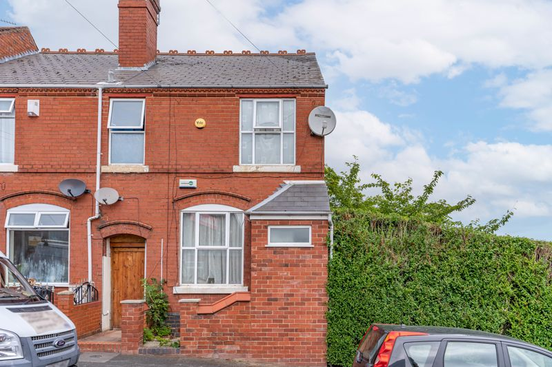 A two bedroom end-terrace property situated in the popular location of Lye, Stourbridge.<br/><br/>Entering through the porch, the ground floor comprises of a lounge with gas fireplace, kitchen/diner with access to the cellar, utility room with access to the rear garden and a rear extension with patio doors leading to the rear garden. The first floor offers two good sized double bedrooms, one of which features ample built in wardrobe space, and a bathroom with electric shower over bathtub. There is also a good sized cellar offering additional storage space.<br/><br/>To the rear is a deceptively spacious garden, mostly laid to lawn with an initial paved patio area. Additional benefits include full double glazing and gas central heating.