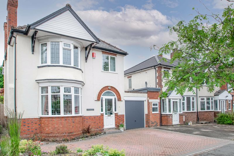 A delightfully presented three-bedroom link-detached property situated in a sought-after area of Halesowen located on a quiet street. <br/><br/>In brief, this property comprises; A storm porch, an entrance hallway leading off to the first reception room, this benefits from a large feature bay window allowing lots of natural light to flood in as well as a fireplace, further to this are double doors onto a delightful second reception room which benefits from a feature fireplace also, and access onto the rear patio. At the end of the hallway is a well-proportioned kitchen that benefits from having an integrated four-ring gas burner stove and oven, as well as having space for other appliances such as a tumble dryer and washing machine in the side-extension, as well as a fridge-freezer and countertops in the garage. Lastly on the ground floor is a W.C.<br/><br/>The first floor lends itself to three good-size bedrooms, the first of which is a double with space for wardrobes, the second is also a double with space for wardrobes, as well as a good-size single bedroom. Lastly on the first floor is a family bathroom with a bath and overhead shower unit. <br/><br/>Externally this property boasts a stunning mainly laid to lawn rear garden, with attractive, planting borders, trees, and scattered shrubbery. Accessible from the side extension and second reception room is a good-size initial decked area that makes for a lovely alfresco dining space, further to this is a second dining area at the top of the garden, which also accommodates a garden shed. <br/><br/>Amenities are located close by with Halesowen town centre being just a short drive away, which has plenty of shops, highly regarded primary and secondary schools, as well as Halesowen college providing further education. Leasowes Park is also located nearby which offers beautiful walks surrounding a lake, woodland, canal, streams and even a man-made waterfall.