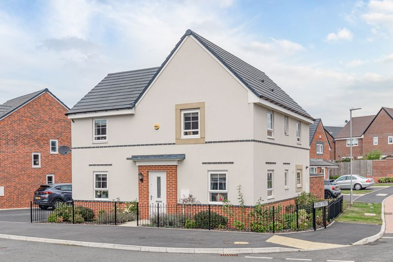 <br/><br/>An excellent opportunity to purchase a beautifully presented, modern, detached family home; constructed by Barrett Homes in 2017; occupying an enviable corner position, in the sought after location of Norton Farm, Bromsgrove.<br/><br/>Upon entering the property, the stylish interior briefly comprises of; Entrance hallway offering guest w/c and stairs rising to the first floor landing; dual aspect lounge having double doors opening out to the rear garden; separate dining room; attractive open plan kitchen/family room, benefiting from a range of stylish wall and base units, integrated oven, washing machine, tumble dryer, dishwasher, gas hob with extractor hood over, built in fridge freezer and further double glazed patio doors out to the rear.<br/><br/>Rising upstairs, the first floor landing has doors that give off to; master bedroom having built in wardrobe storage, and leading off to a modern en-suite shower room; double bedrooms two and three; single bedroom four and a three piece family bathroom suite.<br/><br/>Externally the property enjoys a private aspect rear garden having lawn, and patio area to fenced and walled boundaries. A side access gate can be used for entry to the attractive frontage which comprises of a tandem tarmacked driveway for parking two cars, and access to the garage via an up and over garage door.<br/><br/>Additionally the property benefits from; remaining NHBC warranty, gas central heating and double glazing throughout, Yale smart living security system with CCTV, fitted electrical sockets and lighting in garage, loft space for storage, and the option to purchase  items of furniture; available under separate negotiation.<br/><br/>The property is situated on the sought-after Norton Farm development popular for its proximity to Bromsgrove town centre offering a variety of leisure facilities, restaurants, shops, pubs and ease of access to major road links including the M5 and M42.<br/><br/>