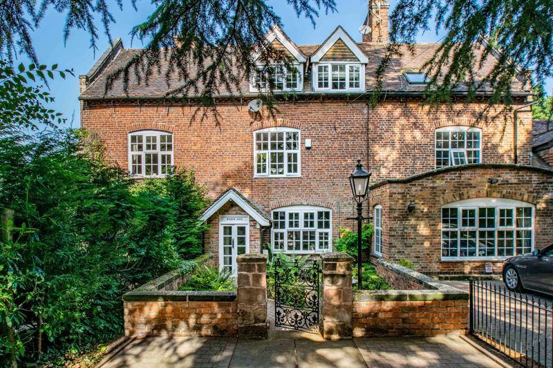 <br/><br/>A unique opportunity to purchase a stunning period style property dating back to the early 1700's. This charming house was originally converted from a substantial country home into three houses, and features a wealth of period style features from the original residence. Located in a secluded semi-rural setting of Catshill, Bromsgrove.<br/><br/>The property is approached via a private secluded driveway, providing parking for two cars and decorative walled fore garden with Victorian style garden lamp post and path leading to the front door. The accommodation is entered through an enclosed porch to; sizable lounge with feature log burner and impressive surround, stunning central reception hall with feature staircase rising to the first floor, stylish fitted kitchen offering integrated fridge freezer, dishwasher, Belfast style sink, and five ring range style cooker, guest W/C, basement utility room with plumbing for appliances and a range of base units, and a sizable, heated, dining conservatory situated to the rear of the property, boasting bi-fold doors out to the rear gardens.<br/><br/>Ascending the grand staircase, the first floor landing establishes; an impressive sized master bedroom incorporating cast iron open fire with surround, generous four piece family bathroom suite benefiting from separate shower cubicle and freestanding bathtub, and a sizable airing cupboard store.<br/><br/>Additional stairs continue up-to a bright and airy second floor landing, currently being utilised as a home office space, and has doors that radiate off to; double bedroom two with feature open fireplace, double bedroom three, well-proportioned bedroom four and a shower room.<br/><br/>Externally the rear of the property enjoys beautifully maintained gardens, being mostly laid to lawn, with paved patio seating area, block paved patio area to the rear, mature hedgerows and fencing to boundaries, and rear access gates out to the detached garage, benefiting from pitched roof for 