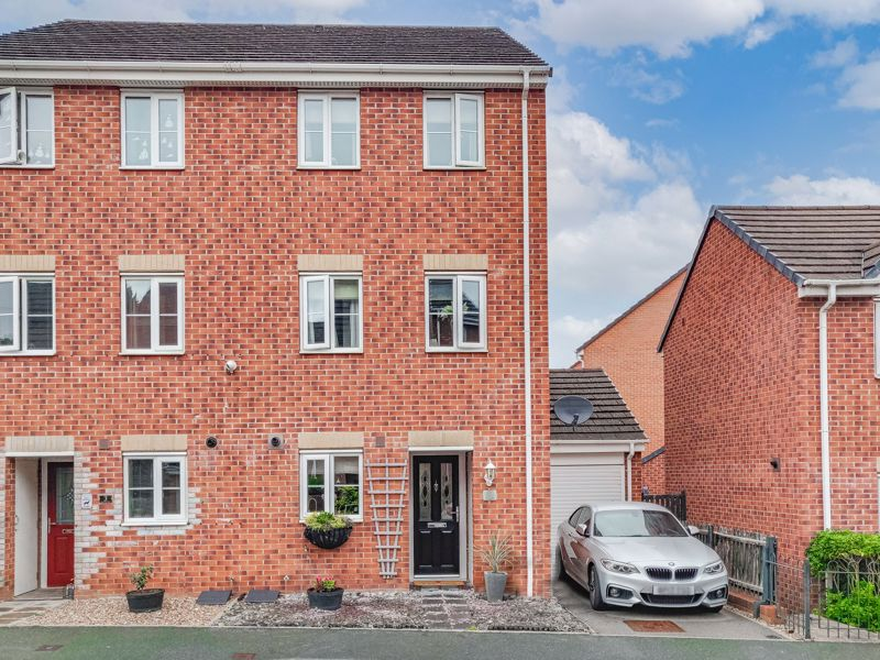 A four-bedroom semi-detached townhouse in a sought-after area of Halesowen. <br/><br/>This property briefly comprises; Entrance hallway, a well-proportioned kitchen that benefits from having integrated appliances such as; Fridge freezer, and dishwasher, whilst also having space for a washing machine and a range cooker, and additional appliance space can be found in the utility/garage if required. Further down the hallway is a W.C which is followed by a spacious lounge/diner that boasts double doors onto a rear patio area that is perfect for outdoor entertaining. <br/><br/>The first floor of this property lends itself to two bedrooms and a family bathroom with a bath and overhead shower. Bedroom two is a double with space for wardrobes, whilst the fourth is a good-size single with space for wardrobes and is currently being used as a dressing room.Leading up to the second floor is two further double bedrooms. Bedroom three is a double with space for wardrobes, and the master bedroom boasting its own en-suite with a good-size walk-in shower unit, as well as built-in storage.<br/><br/>Externally this property has a generous rear garden, an initial patio area accessible via the lounge/diner double doors, as well as access to a good-size garage/utility which also has an electric shutter door and access to the front driveway.<br/><br/>Amenities are extremely close by in Halesowen town centre, which also benefits from a recently redeveloped main Bus Terminal which operates a direct service to Birmingham City and surrounding areas. Halesowen boasts three large secondary schools, many primary schools, and Halesowen College provides further education.<br/><br/>Additional benefits include gas central heating as well as double glazing throughout.