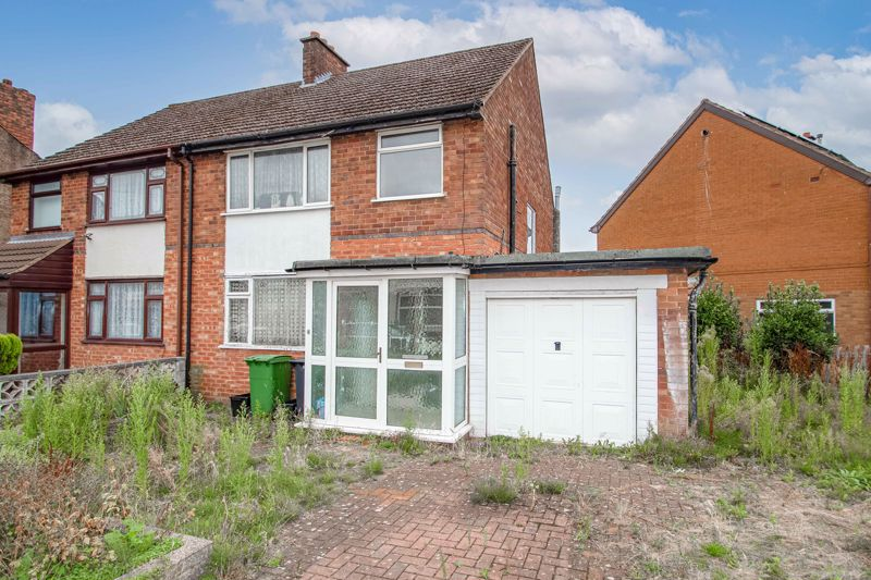A three-bedroom semi-detached property with lots of potential in a popular area of Halesowen. <br/><br/>This property briefly comprises; Entrance porch, a hallway, a spacious first reception room, and a second good-size reception which also opens onto a well-proportioned conservatory that looks onto and accesses the rear garden. Lastly on the ground floor is an adequately proportioned kitchen benefiting from an under-stairs store-cupboard/pantry, a second conservatory that accesses the garage.<br/><br/>The first floor of this property lends itself to three bedrooms, the first is a double with space for wardrobes, the second is also a double with space for wardrobes, and the third bedroom is a good-size with space for a double bed and wardrobes. Lastly on the first floor is a bathroom with a bath unit as well as a separate w.c.<br/><br/>Externally this property has a good-size rear garden that is mainly laid to lawn, and also accommodates a fantastic workshop with the potential to be converted into a; Play room, home office, gym, subject to normal planning permission. Side access leads to the front of the property where sits a good-size driveway and garage/storage area.<br/><br/>This property is ideally situated for local shops, eateries, and other amenities, as well as being in the catchment area for highly regarded schools. For commuters, this property is ideally situated close to Rowley Regis train station as well as offering road links leading on to Birmingham, Halesowen Town Centre, and Stourbridge giving access to local shops and amenities, as well as having road links to the M5. Nearby are local supermarkets and parks, making this property ideal for families.<br/><br/>
