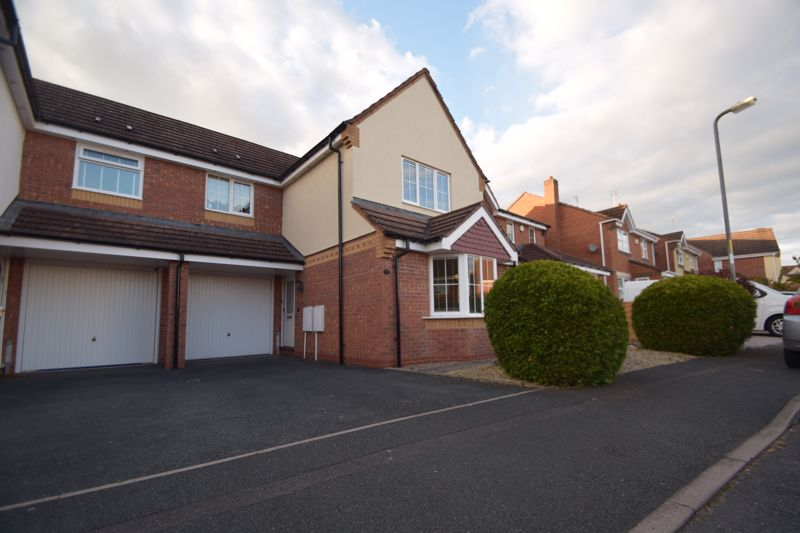 A 3 bedroom link detached property in the Brockhill area of RedditchThe accommodation, in brief, features:- Driveway and Garage, Hallway, Lounge with Feature Fireplace and Bay Window, Kitchen/Diner with French Doors to Rear Garden and Integrated Oven, Gas Hob and Extractor, Downstairs WC, Stairs to First Floor Landing, Master Bedroom with Built In Wardrobe and En Suite Shower Room, Double Bedroom Two with Fitted Wardrobes, Bedroom Three and Main Bathroom.Outside, the property enjoys a landscaped rear garden with paved patio with steps up to a further paved patio and further higher tier laid to lawn, with fenced boundaries, beyond which are mature trees creating a private aspect.The property further benefits from gas central heating, double glazing,  and is ideally located for Redditch town centre and its amenities, train and bus stations, as well as commuter routes across the area to the M5 and M42.