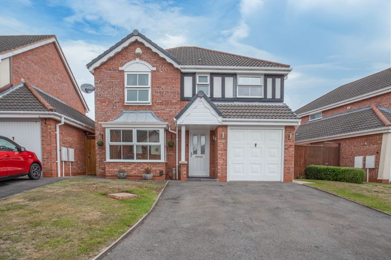 <br/><br/><p><span >A well-presented, four-bedroom, detached family home, situated on a quiet cul-de-sac in the sought-after residential area of Brockhill, Redditch, offered with no onward chain. </span></p><p><span >The ground floor accommodation comprises: Entrance hallway, living room with a feature bay window, gas fireplace and an understairs storage cupboard, separate dining room with French Doors leading to the rear garden, modern re-fitted kitchen with integrated appliances (5 ring gas hob, double oven, dishwasher and extractor hood) along with space for a freestanding fridge freezer, utility room with space for freestanding appliances, and a guest WC/cloakroom. </span></p><p><span >The first-floor landing establishes: Master bedroom with fitted wardrobes, storage cupboard and a modern en-suite shower room, double bedroom two with fitted wardrobes and dual aspect windows, double bedroom three with space for wardrobes and a view to the rear garden, good sized bedroom four with a view to the rear garden, and the main modernised shower room. </span></p><p><span >Outside to the rear is a sizeable, enclosed garden with an initial patio area perfect for garden furniture, then laid to a well-maintained lawn with mature planted borders. To the front of the property is a private driveway providing ample off-road parking along with access to the attached garage.</span></p><p><span >Well situated in Brockhill, the property provides easy access to local amenities, schools and bus routes. Redditch Town Centre is a short ride away boasting an assortment of further amenities including shops, restaurants, bars and cinema, along with the local bus and railway stations.</span></p><p><span >Furniture items are available under separate negotiation. </span></p>