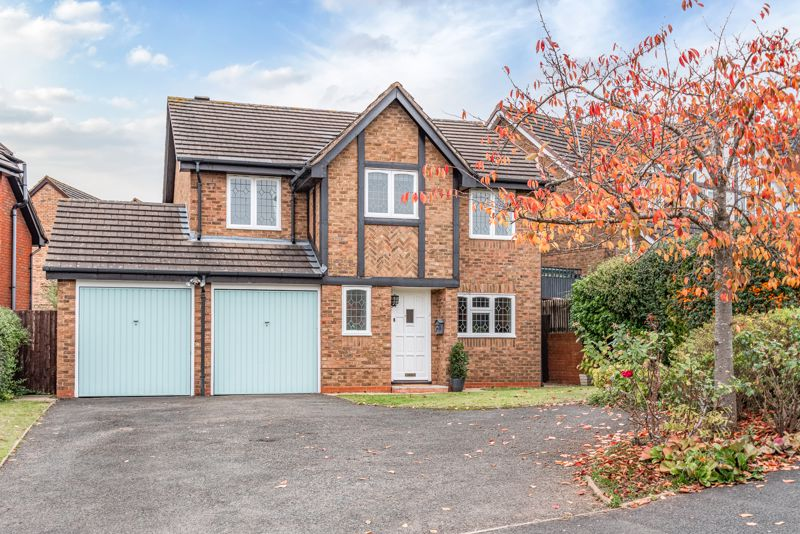 <br/><br/>A substantial, four bedroom, detached family home; once being the former show home for the  sought after residential development of Lea Park, Bromsgrove. The property provides excellent potential to extend the current living space subject to relevant permissions.<br/><br/>The imposing residence is approached via a large driveway, flanked by lawns and well established planted boarders. Once inside, the accommodation briefly comprises; Entrance hall having stairs rising to the first floor landing, and guest W/C; generous sized living room with focal fireplace and views to the rear aspect; separate dining room with double glazed patio doors out to the rear garden; fitted kitchen offering a range of wall and base units, space for a small dining table, and integrated oven and gas hob. <br/><br/>Rising upstairs, doors radiate off from the central landing that give off to; a stylish master bedroom with fitted with wardrobe units, and access to a en-suite shower room; double bedrooms two and three; single bedroom four/study; and a three piece family bathroom suite.<br/><br/>Outside the property enjoys a sunny aspect rear garden, mostly laid to lawns, mature shrubbery, paved patio seating area, rear access to the garage and side access gate to the front.<br/><br/>The house is set in a quiet cul-de-sac, situated 1 mile North of Bromsgrove town centre, within walking distance of a convenience store, butchers, bus stops and public foot paths into open fields. There is a range of both private and state schooling near by, and commuting to Birmingham is reachable at junction 4 of the M5 motorway.