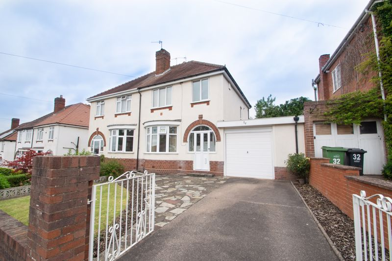 This three bedroom semi-detached house, close to local schooling, amenities and commuting routes.<br/><br/>The property in brief: Porch leading to the entrance hall which leads to to the lounge with bay window and fireplace, dining room also with a feature fireplace and a kitchen with space for a washer, cooker and fridge/freezer. There is also a downstairs WC for convenience.<br/><br/>Upstairs: Spacious bedroom one sits to the front of the property, and double bedroom two sits to the rear. There is also a well-proportioned bedroom three, and a family bathroom.<br/><br/>All three bedrooms have laminate flooring, and the entrance hall benefits from having original wood flooring.<br/><br/>Outside: To the rear is a patio area leading on to the extensive lawn. There is also an outdoor workshop area with electrics, ideal for storage, and an outdoor water tap. The front has a gated driveway, as well as a garage which also benefits from electrics.<br/><br/>This property is ideally located for families due to its close proximity to local schooling of all ages. There are local shops and amenities nearby, including corner shops and further access in Halesowen town centre to supermarkets. For commuters, the A458 runs nearby providing road access to Birmingham, the M5, Merry Hill and Halesowen, as do the number 9 and number 002 buses which run along this route.