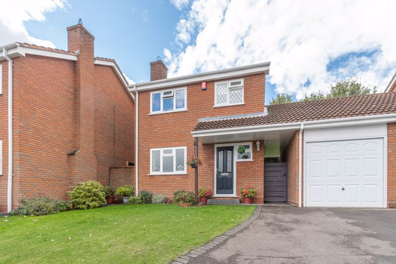 <br/><br/><p ><span >A beautifully presented, four-bedroom link-detached home, in the sought-after location of Oakenshaw South, Redditch.</span></p><p ><span >The ground floor accommodation comprises: impressive entrance hallway, fitted kitchen with Bosch integrated appliances (gas hob, electric double oven, extractor hood, washer/dryer and dishwasher) and Granite work surfaces, spacious and open plan lounge with a feature gas fireplace, dining area with French Doors leading to the rear garden, and a guest WC/cloakroom. </span></p><p ><span >The first-floor landing establishes: Bedroom one with fitted wardrobes, double bedroom two with fitted wardrobe space, good-sized bedroom three, currently used as a home office, generously sized bedroom four with a view to the rear, the shower room and a handy airing cupboard. </span></p><p ><span >Outside to the rear is a landscaped private garden mainly laid to lawn, benefitting from a storage timber shed along with access to the detached garage. To the front of the property is a well maintained front garden, off-road parking, access to the garage, along with side gate access through to the rear. </span></p><p ><span >Well situated at the top of a quiet cul-de-sac with an open aspect, the property benefits </span><span >from being close to countryside walks and has easy access to local amenities, well regarded schools and the town centre. </span><span >The property is also well located for access to motorway links (M42 & M5), bus routes and the local railway station.</span></p>