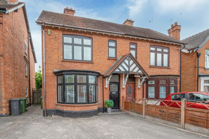 <br/><br/><p>A beautifully presented four-bedroom, semi-detached Edwardian family home, boasting oodles of character with period features. The property is well placed in the highly sought-after residential area of Headless Cross, Redditch.</p><p>The ground floor accommodation comprises: Entrance hallway with stairs to the first floor landing, spacious living room with a feature open fireplace and bay window, a good-sized family room that is open plan with the impressive kitchen/diner, benefitting from French Doors leading to the rear, dual aspect and sky light windows, a feature rangemaster cooker, along with space for freestanding appliances, separate utility room with space for freestanding appliances, a guest WC, and the conservatory with a view and access to the rear garden.</p><p>The first-floor landing establishes: Bedroom one with built-in wardrobes and a view to the rear garden, double bedroom two with space for wardrobes and a feature open fireplace, double bedroom three with a view to the rear, good-sized bedroom four, the family bathroom providing a bath, separate shower and sink, and a final separate WC.</p><p>Outside is an initial gravelled seating area, down to a well-maintained lawn with a feature tree swing and mature planted borders, with a final summer garden house (benefitting from full electrics) and Wendy house. To the front of the property is a private block-paved driveway providing off-road parking, along with side gate access to the rear garden.</p><p>Furthermore, the property benefits from superb characterful features including stained glass front door and porch windows, a Minton porch floor and Edwardian style high ceilings. Additionally, the property has a boarded loft space, gas central heating and double-glazed windows throughout.</p><p><span >Well situated the property is close to an assortment of local amenities such as shops and restaurants and is within walking distance to Morton Stanley, countryside walks and well-regarded schools W