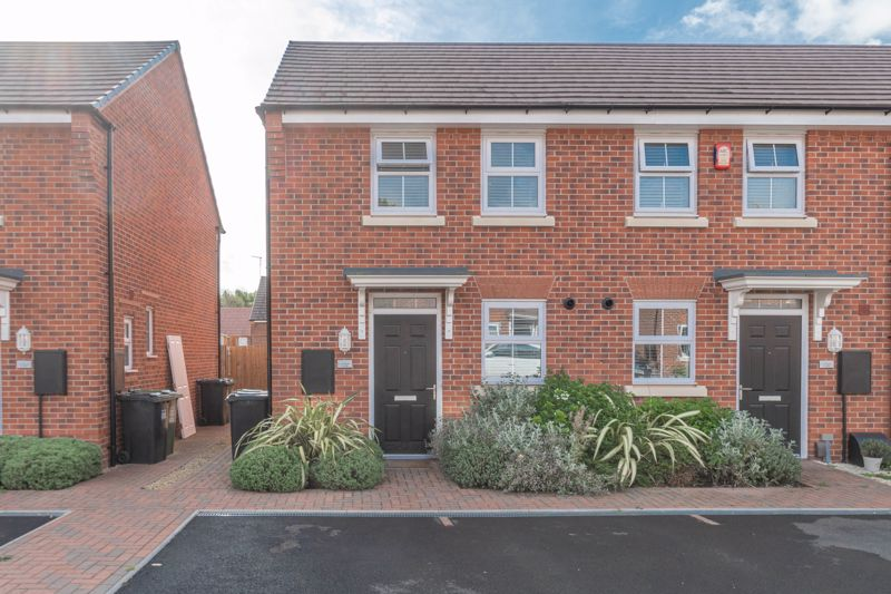 <br/><br/><p ><span >An immaculately presented two-bedroom, end terraced home, placed in a highly sought-after residential area on a modern development in Wirehill, Redditch.</span></p><p ><span >The ground floor accommodation comprises: Entrance hall with stairs to the first floor landing, WC/cloakroom, fitted kitchen with integrated appliances (fridge, freezer, dishwasher, washer/dryer, electric hob and oven), and the spacious living room/diner with a handy storage cupboard, and French Doors leading out onto the rear garden patio.</span></p><p ><span >The first-floor landing establishes: Bedroom one with space for wardrobes, double bedroom two with a handy storage cupboard, and the family bathroom, providing a bath with overhead shower, sink and WC.</span></p><p ><span >To the rear is a sizable garden with an initial patio area then laid to a well-maintained lawn. To the front of the property is allocated off-road parking space, along with side gate access to the rear garden.</span></p><p ><span >Ideally situated in Wirehill, the property benefits from being nearby to the Alexandra Hospital for medical facilities, local shops, and schooling. Redditch Town Centre is a short ride away boasting an assortment of leisure facilities and amenities such as shops, restaurants, and cinema, as well as the local bus and train stations. Motorway networks (M42 and M5) are easily accessible.</span></p>